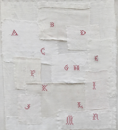 1 Marquoir de REPRISES mf dubromel 1999 (A-N). H 80 X L 41cm