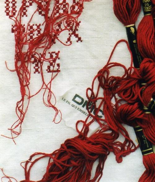 18 Du 498 DMC  le fil rouge qui embellit vos idées - Copie