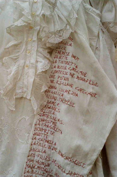 Casanova  (liste des conquêtes-détail)