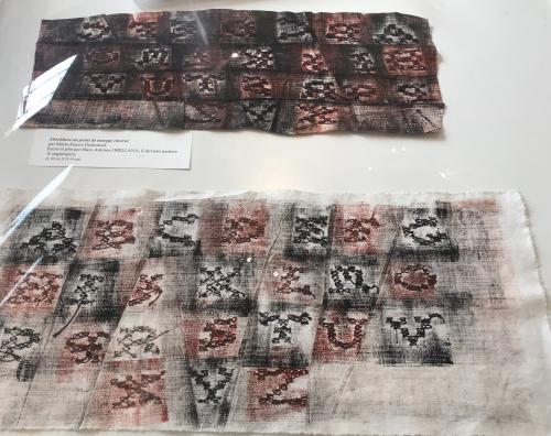 Abécédaire  matrice d'impression pour un abécédaire imprimé 1999