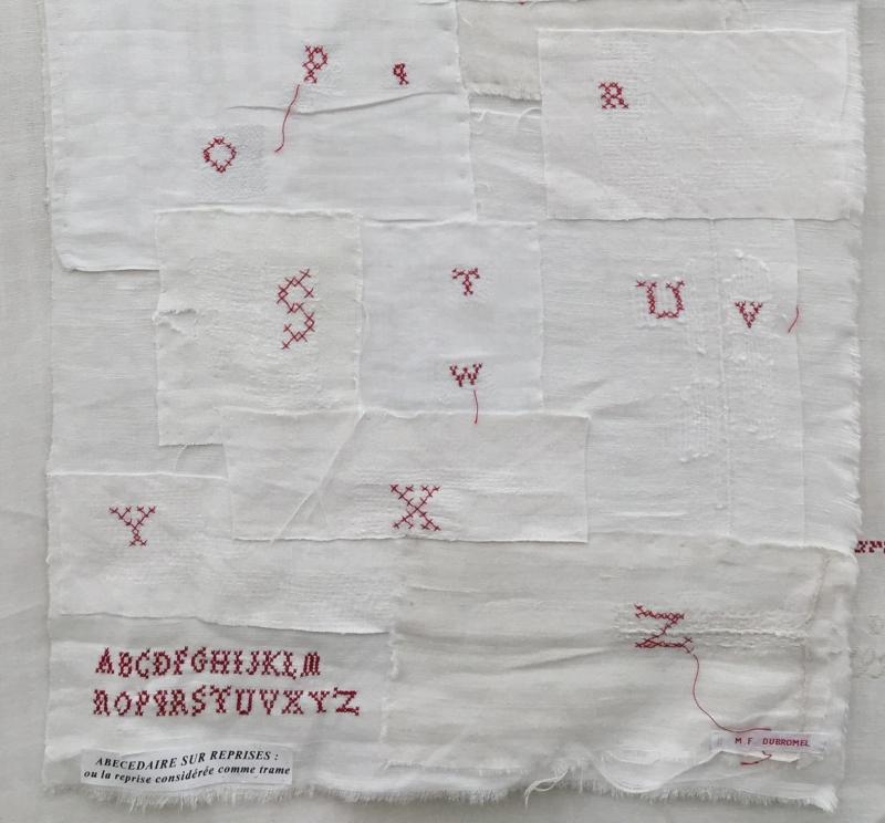 2 Marquoir de REPRISES mf Dubromel 1999 (O-Z). H 80 X L 41cm)