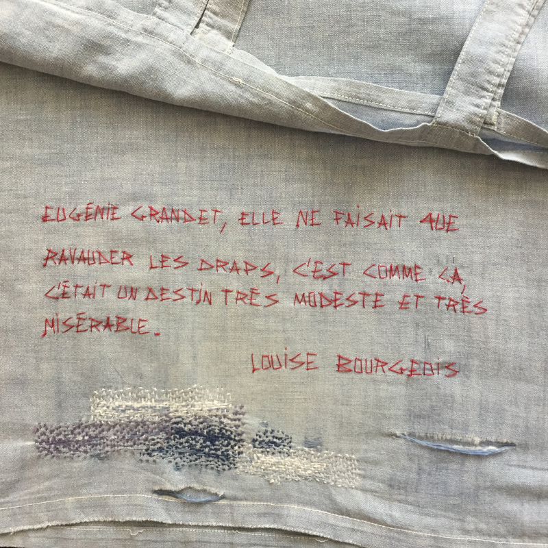 Louise Bourgeois. Ecriture au fil rouge  mfd