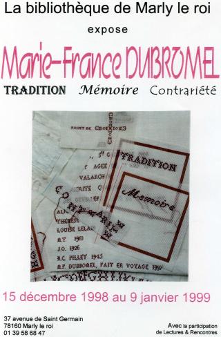 Mfd  Tradition  Mémoire  Contrariété  1998-1999